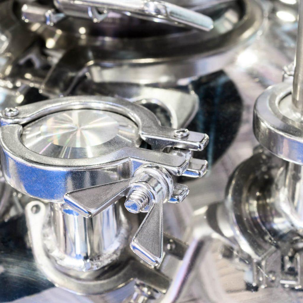 Área de fermentações industriais
