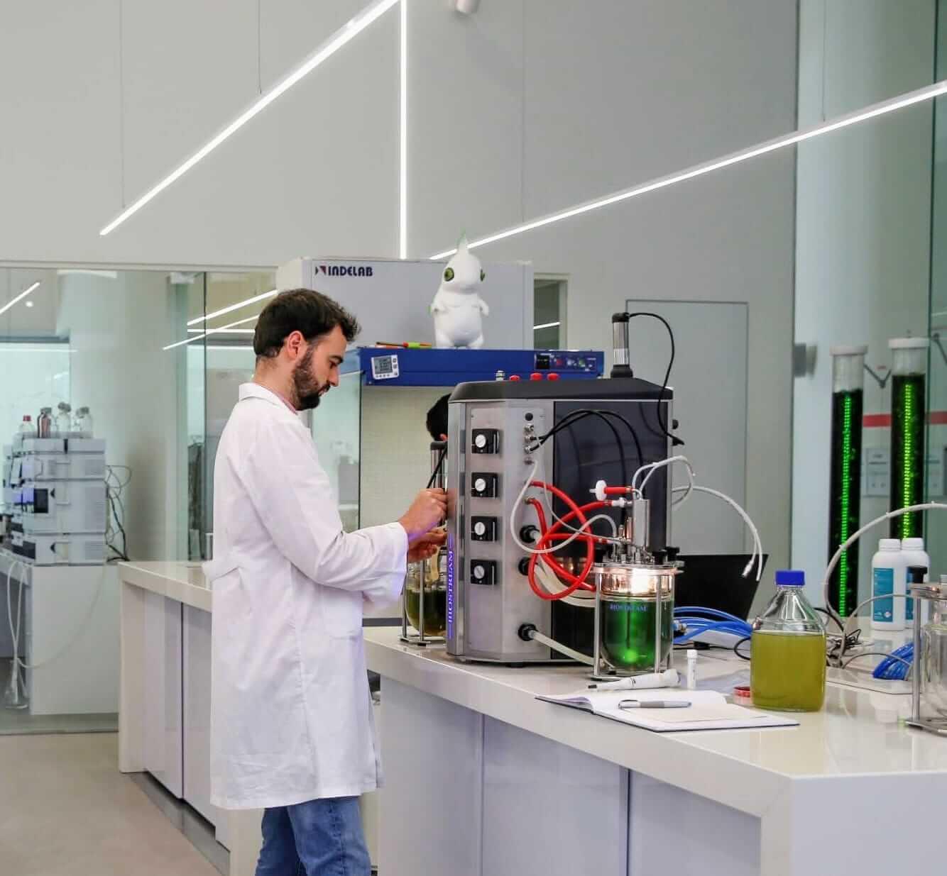 péptidos en fermentador